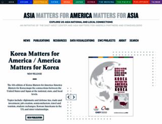 asiamattersforamerica.org screenshot