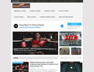 asianathletes.wordpress.com screenshot