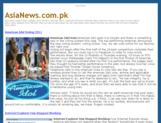 asianews.com.pk screenshot