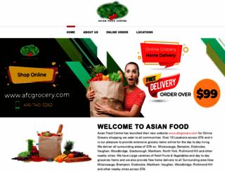 asianfoodcentre.com screenshot