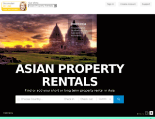 asianpropertyrentals.com screenshot