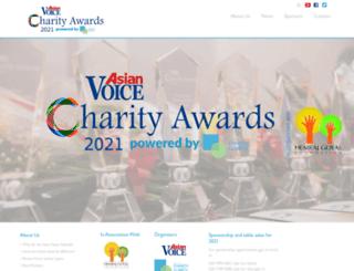 asianvoicecharityawards.com screenshot
