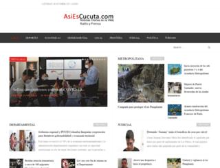 asiescucuta.com screenshot