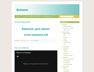 asinema.wordpress.com screenshot
