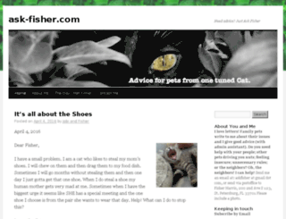ask-fisher.com screenshot