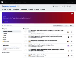 ask.puppetlabs.com screenshot