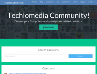 ask.techlomedia.in screenshot