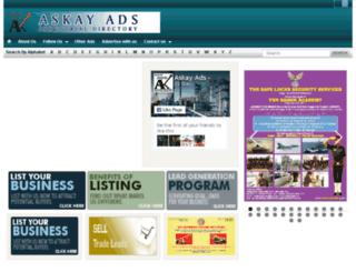 askayads.org screenshot