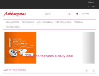 askbargains.com screenshot