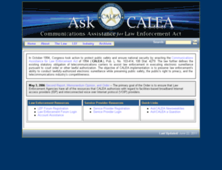 askcalea.fbi.gov screenshot