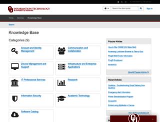 askit.ou.edu screenshot