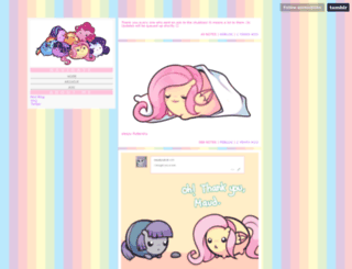 askmlcblobs.tumblr.com screenshot