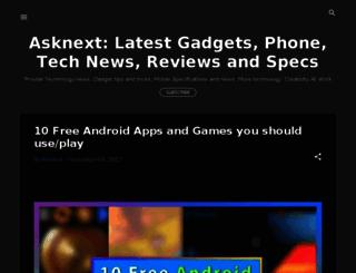 asknext.com screenshot