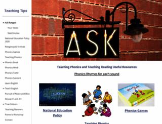 askrangoo.com screenshot