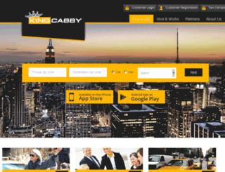 askthecabby.demowebsites.org screenshot