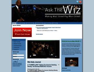 askthewiz.info screenshot