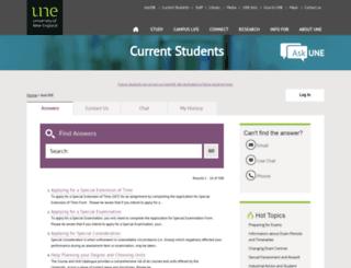 askune.custhelp.com screenshot