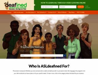 asldeafined.com screenshot