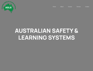 asls.com.au screenshot