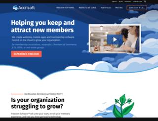 asoft8200.accrisoft.com screenshot