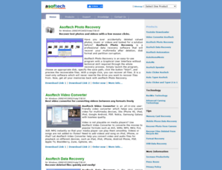 asoftech.com screenshot