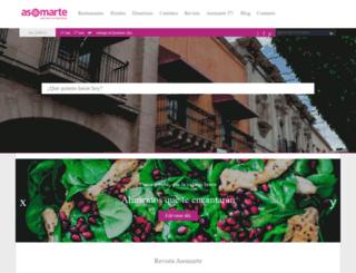 asomarte.com screenshot