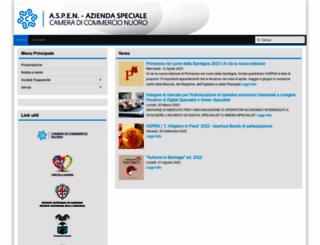 aspenuoro.it screenshot