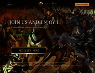 aspidanetwork.com screenshot