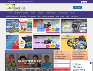 aspirationsinstitute.com screenshot