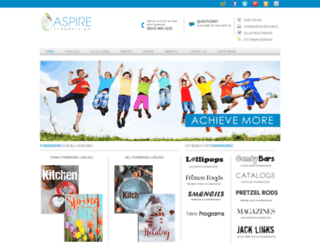 aspirefundraising.com screenshot