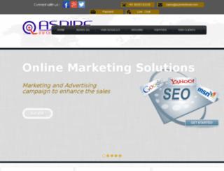 aspireinfonet.com screenshot