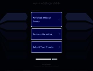 aspo-marketingportal.de screenshot