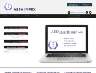 assaimpex.com screenshot