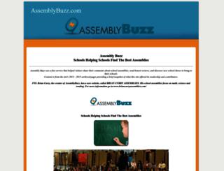 assemblybuzz.com screenshot