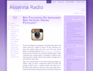 assennaradio.com screenshot