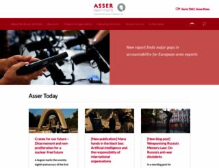 asser.nl screenshot