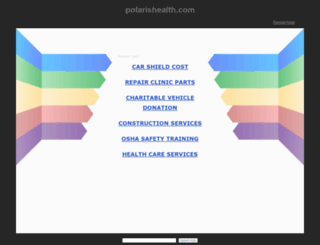 assessment.polarishealth.com screenshot