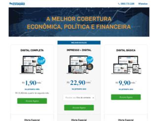 assineestadao.com.br screenshot