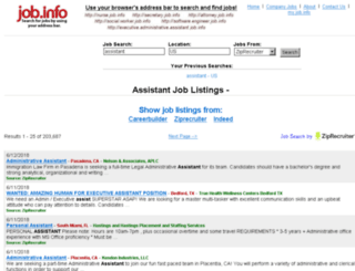 assistant.job.info screenshot