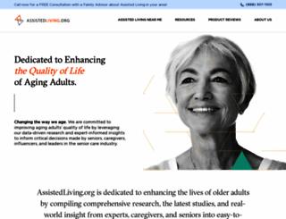 assistedlivingtoday.com screenshot