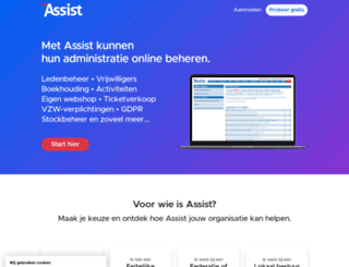 assistonline.eu screenshot