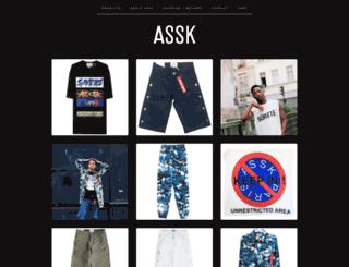 assk.bigcartel.com screenshot