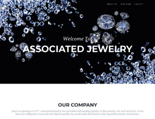 associatedjewelry.com screenshot