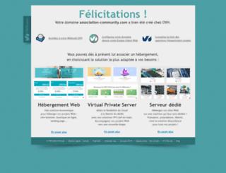 association-community.com screenshot