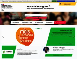 associations.gouv.fr screenshot