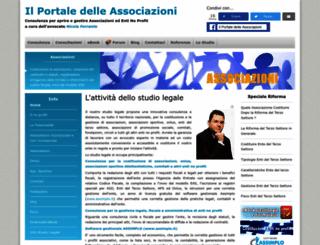 associazioni.avvocatoferrante.it screenshot