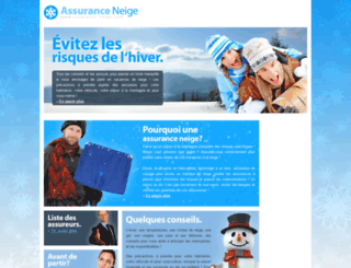 assurance-neige.com screenshot