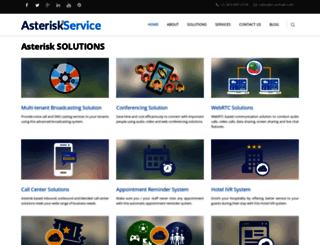 asteriskservice.com screenshot