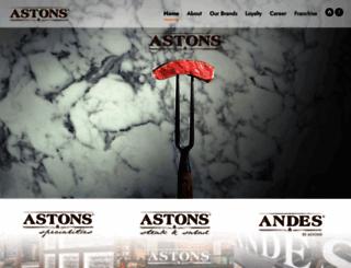 astons.com.sg screenshot