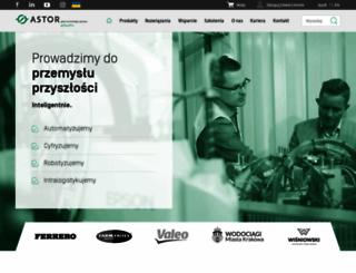 astor.com.pl screenshot